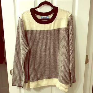 Cozy Oversized Vintage Knit Sweater